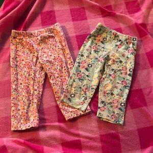 Girls flower bottoms